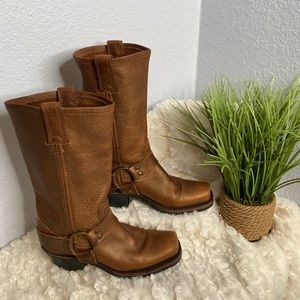 Frye leather Harness boots size 6 NWOB